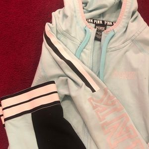 PINK Victoria's Secret Other - Teal tights and jacket from PINK